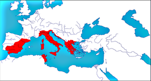 The Roman State from 753 BC to 1453 AD by woodsman2b