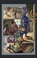 NINJA MONKEY PG COLORED by bobbett