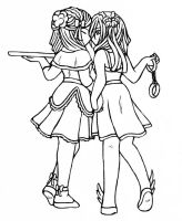 Little Sugar and Spice Lineart by Anasatcia
