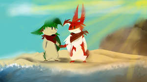 The Warm Sun and Beach by UnknownKaptain