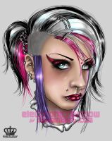deathrock_quickpaint_complete by ElectronicRainbow