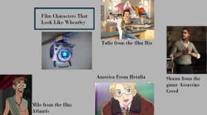 Characters That Look Like Wheatley by ilovewheatley