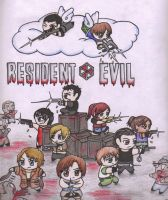 Resident Evil Group by BrerBunny13