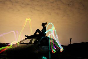 lightpainting by LostCrown