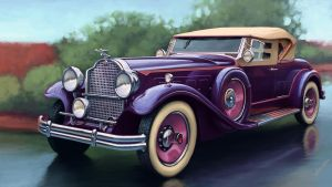 Packard Deluxe Eight 1931 by Sergeo-da