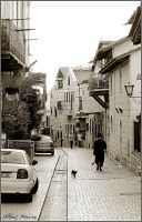 Afternoon in the old town by ShlomitMessica