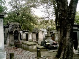 Pere Lachaise I by Hiljainen-stock