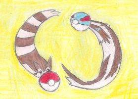 Weasel Pokeballs by ToxicWyvern