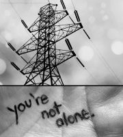 You're Not Alone by paperdolldreams