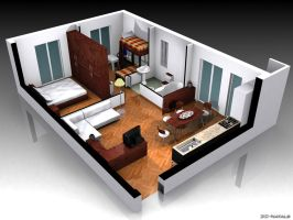 Interior Design by 3d-natals