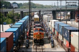 BNSF Fill er' up by DragonWolfACe