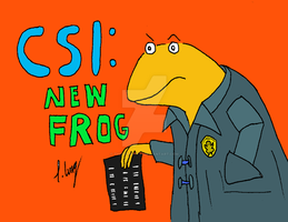 CSI: New Frog by The-Episiarch