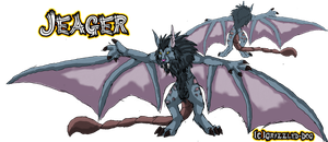 Jeager the Wyvern by Grizzled-Dog