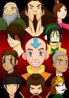 The Avatar Crew by chrisdog203