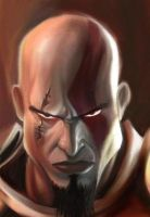 Kratos by Py3rr