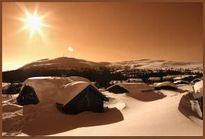 One winter day 2 by Virtuon