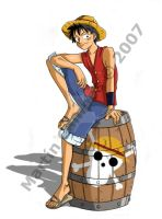 One Piece - Luffy D. Monkey by Ronoa