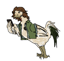 Jarpad Chicken Doodle by 14InAHeart