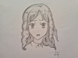 Some wavy haired girl by ElficMoon