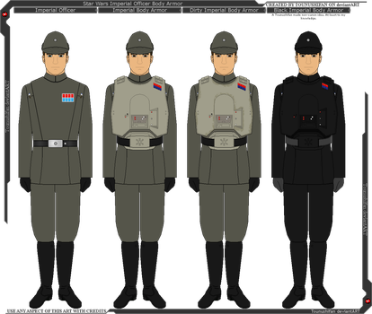 Star Wars - Imperial Officer Body Armor by Grand-Lobster-King