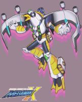Megaman X Boss OC: AirBomber Seagull by Exerionz