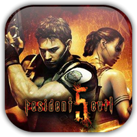 Resident Evil 5 Game Icon by Wolfangraul
