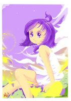 Miaa Purple Yellow Day by Zeikai
