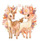 The Fawn Siblings by ethe