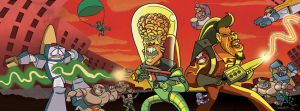 Ghostbusters Meets Mars Attacks by Hartpad