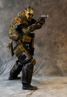Army of Two Elliot Salem Cosplay mk3 by Chaplain-Seraphi