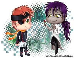ChIbIs - Lavi and Tiky - DGM - by Timagirl