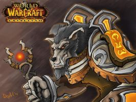 Worgen Priest by Departedpro