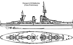 Battleship Design A-56 by Tzoli