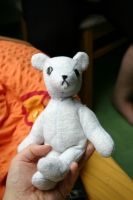 Teddy bear for Mia by Mietschie