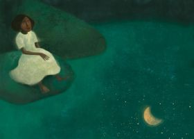 BE The lake and the moon by roweig