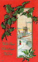 X-mas Vintage Greeting by SolStock