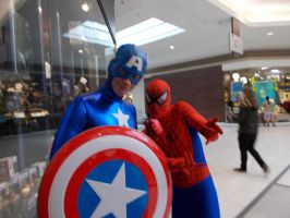 Captain America and Spiderman - FCBD 2014 by J25TheArcKing