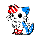 4th of July Cat Auction (closed) by LeafJayfeather