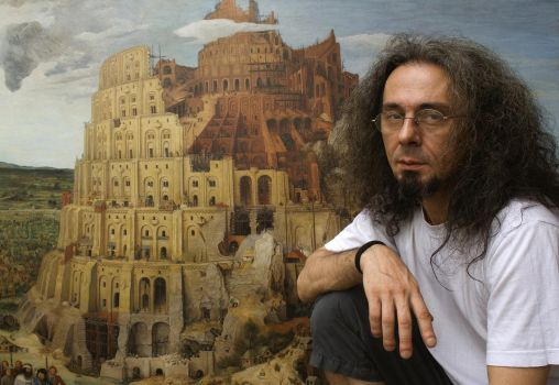 Me with Tower of Babel by boykokolev