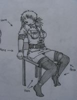 Seras Victoria and the Upcoming Bondage Tutorials by Geknebelt