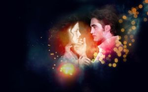 Wall Edward + Bella 1 by e-transitions