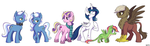 My Little Genetics by SorcerusHorserus