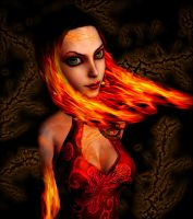 Queen of fire by capconsul
