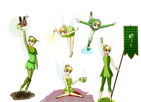 Tinkerbell designs by yamon-venzli
