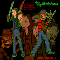 Venetia TH and Wes Craven Tribute by LittleGreenGamer