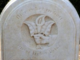 Here rests in God... by touch-the-flame