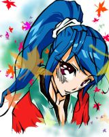 Fall Is Colorful With Kimono by Azulla-00
