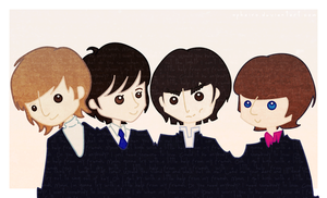 les beatles by OphAiRO