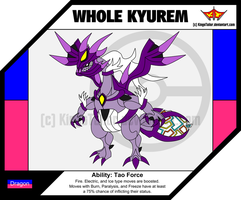 Whole Kyurem by KingsTailor