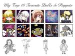 My Top 10 Favorite Dolls and Puppets Meme by artdog22
